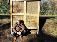 Bijenhotel in Rotselaar