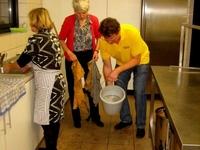 er wordt sterk toegezien op de hygiëne in de keuken